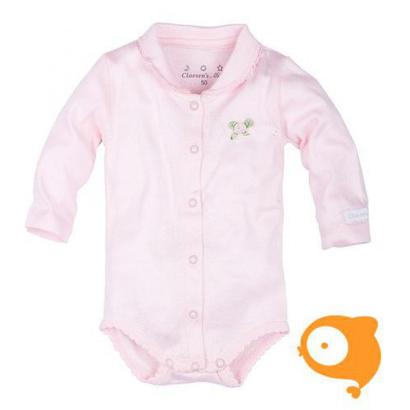 Claesen's - Newborn romper lange mouwen baby roze