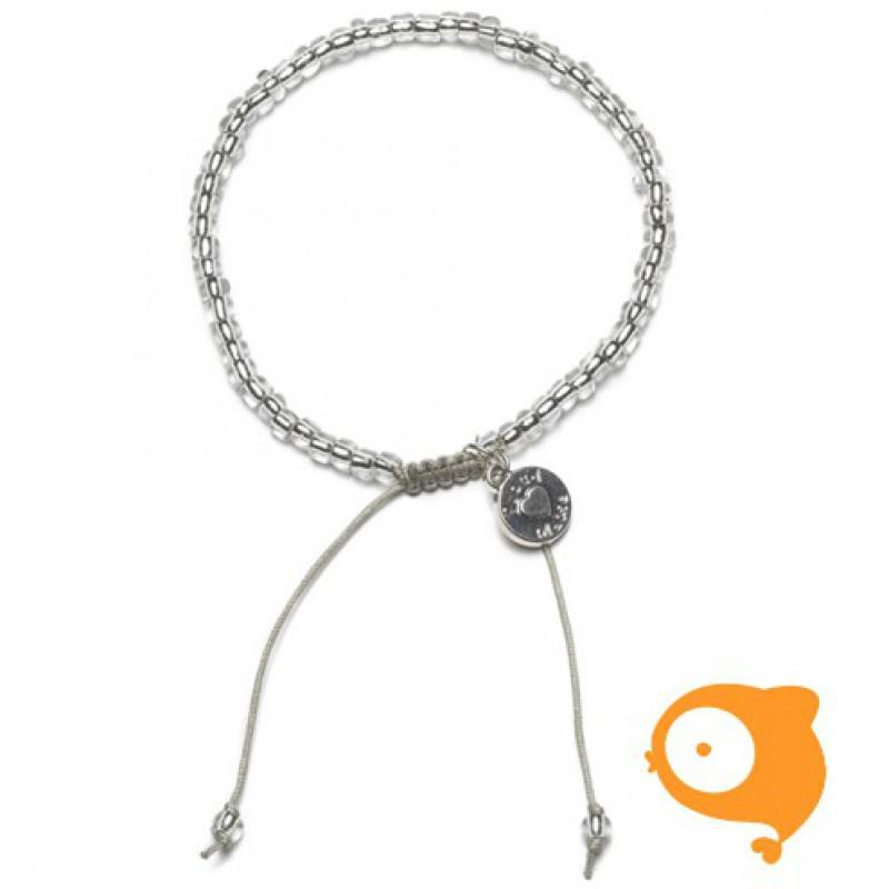 Proud Mama - Armband beads transparant