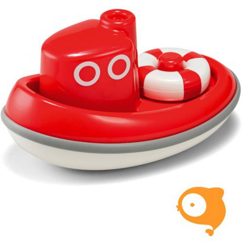 Kid O - Boot rood drijvend