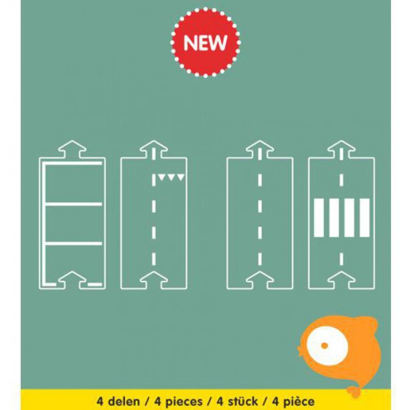 Waytoplay - Rechtdoor uitbreidingsset 4-delig
