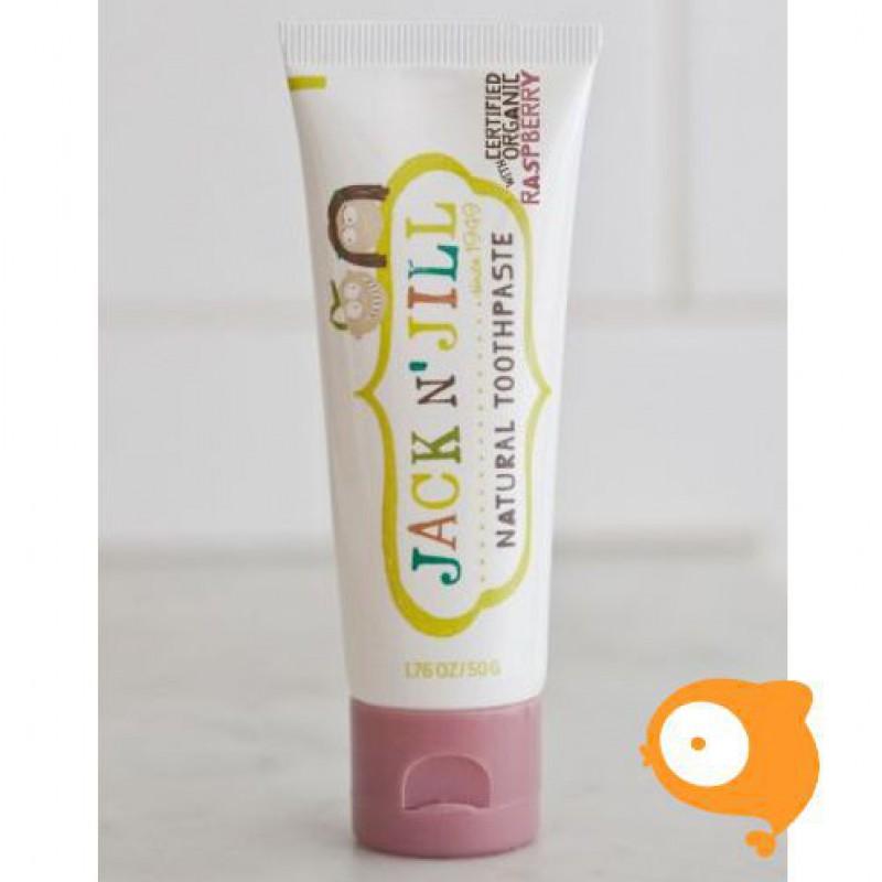 Jack 'N Jill - Natuurlijke tandpasta framboos