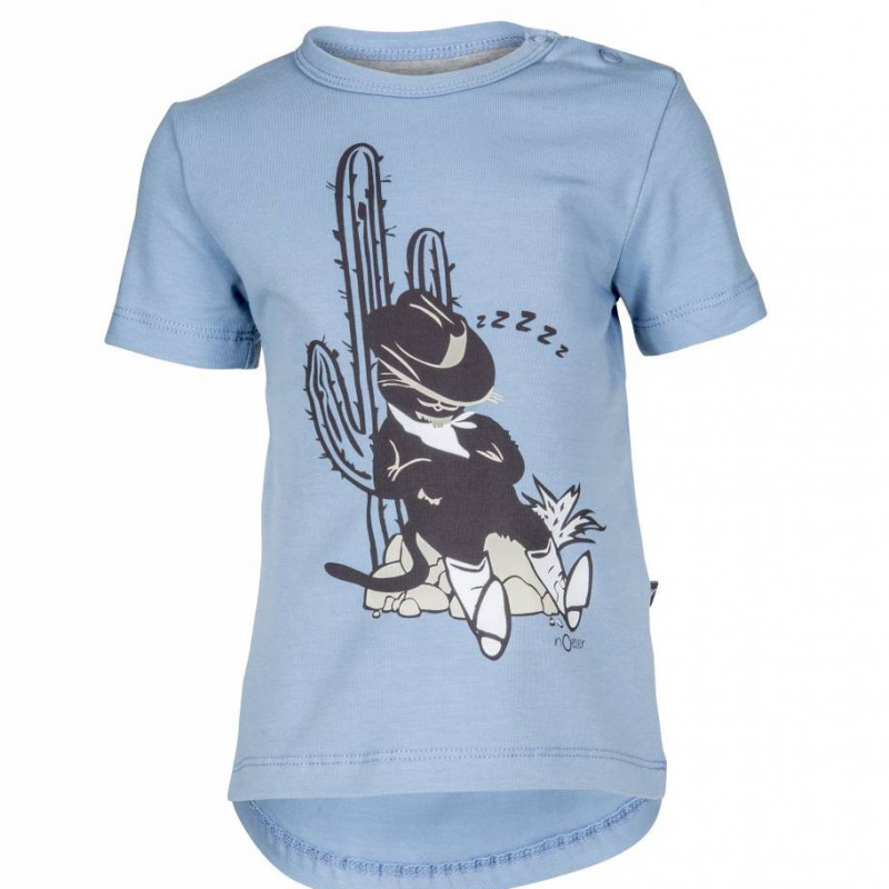 nOeser - T-shirt Perry The Puss Blue