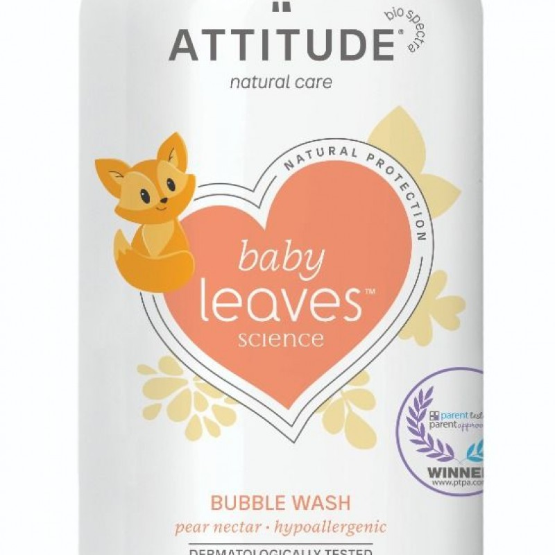 Attitude - Babyleaves bubble wash Pear nectar