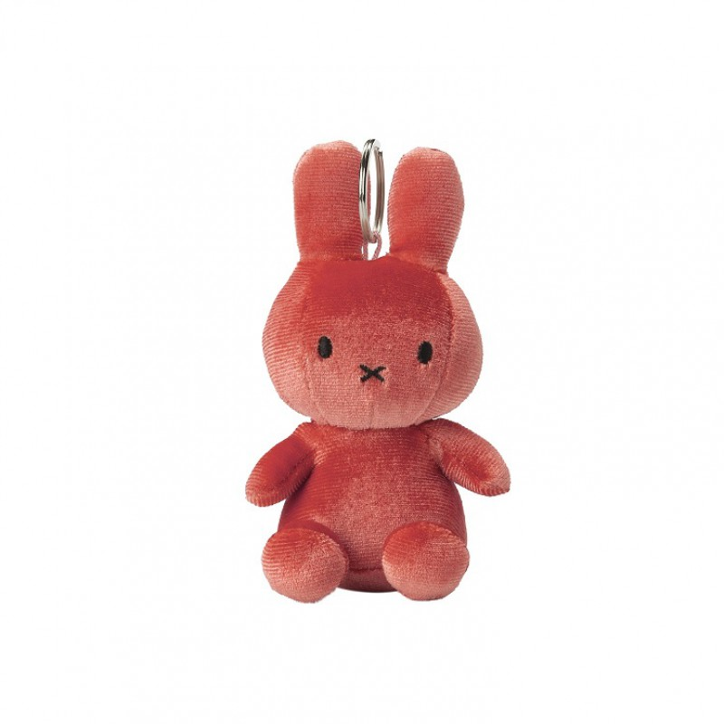 Nijntje - sleutelhanger velvet candy pink