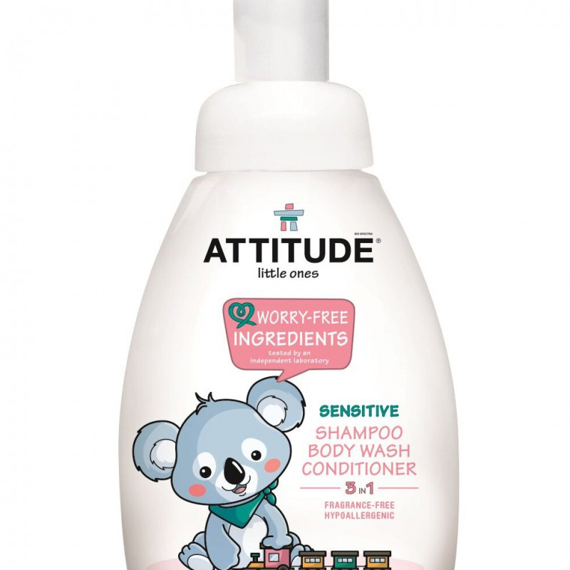 Attitude - Little Ones 3 in 1 parfumvrij