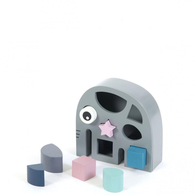 Smallstuff - sorteren met vormen olifant