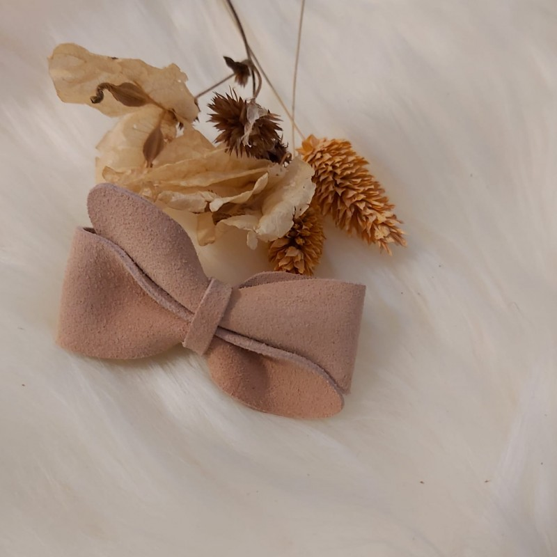 Atelier Ovive - hairpin bow vive - Soft pink