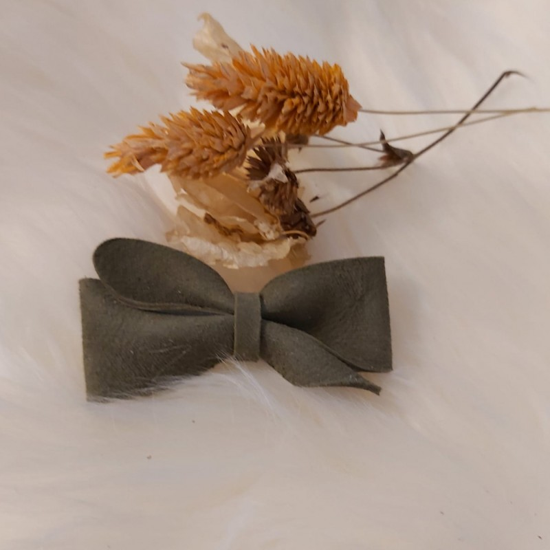Atelier Ovive - hairpin bow vive - Moss green