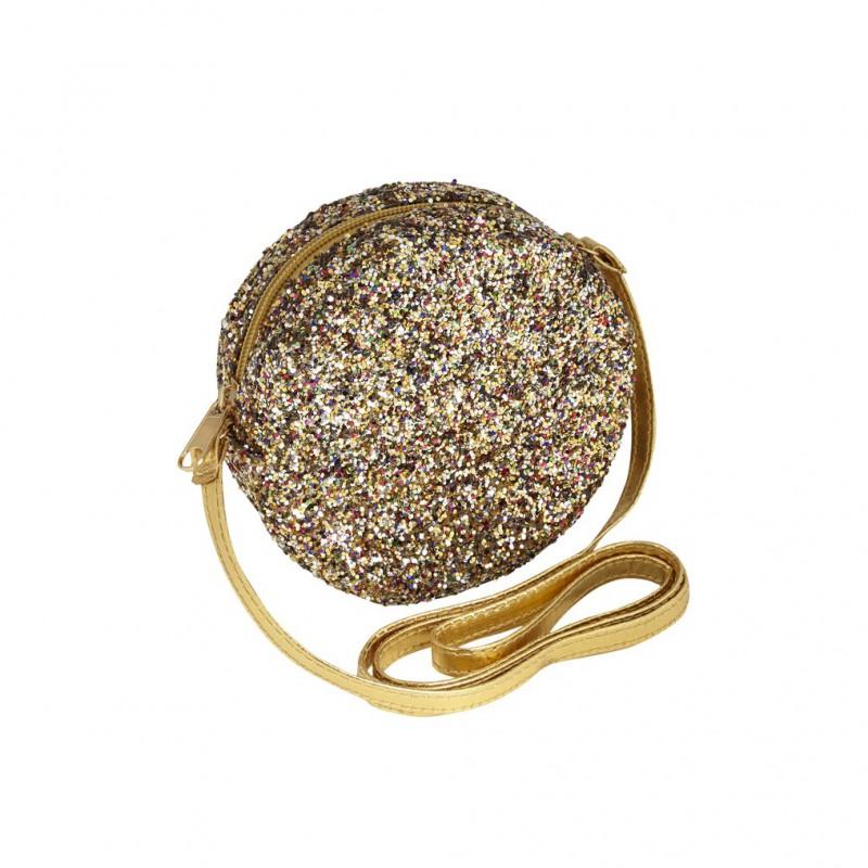 Mimi & Lula - Lula glitter bag gold