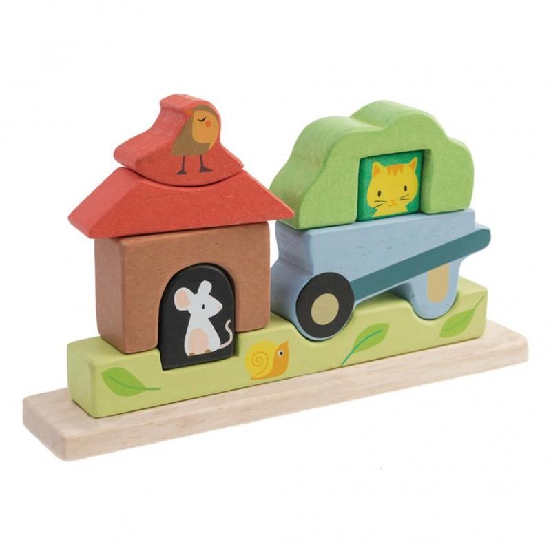 Tender leaf toys - Puzzel magnetische tuin