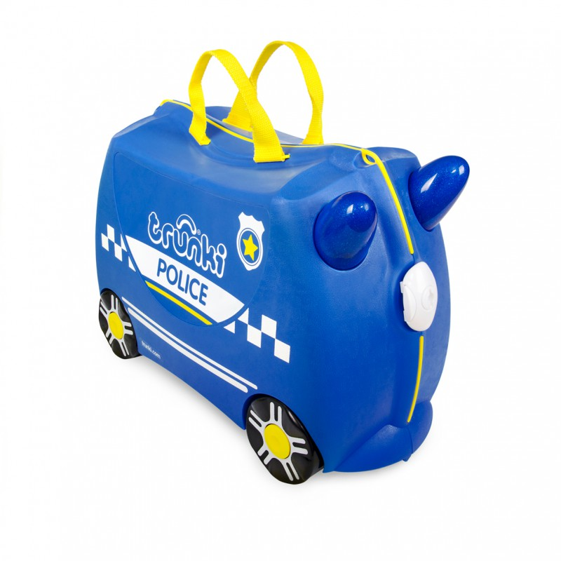 Trunki - Kinderkoffer ride-on politiewagen