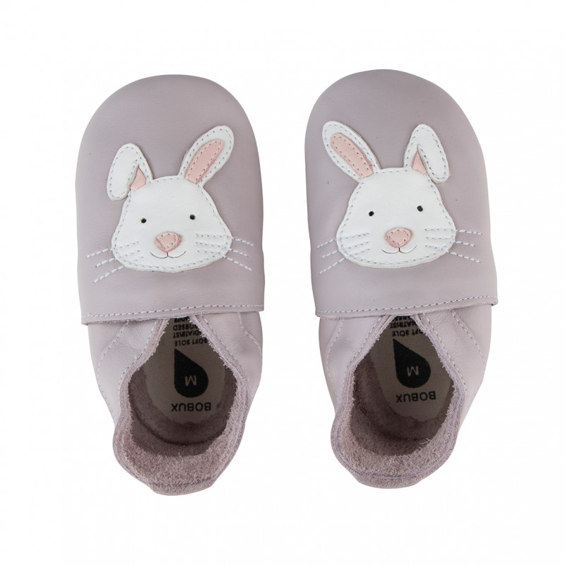 Bobux - Soft soles rabbit lilac
