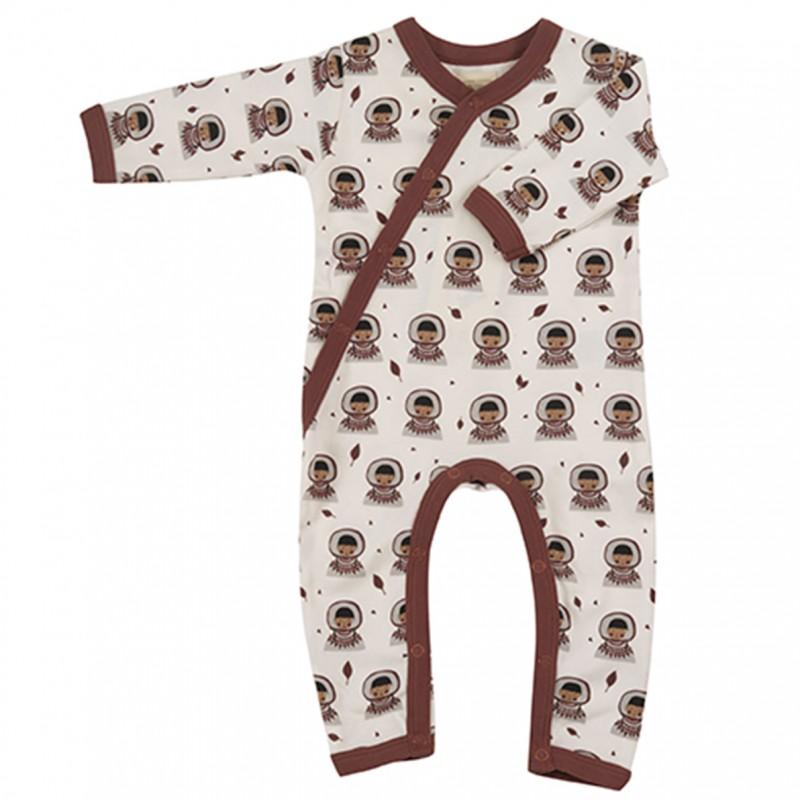 Pigeon - pyjama romper Inuit - spice