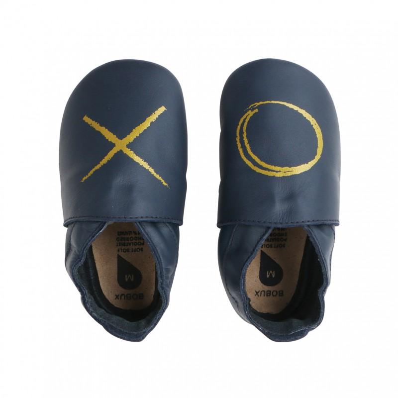 Bobux - Soft soles navy XO