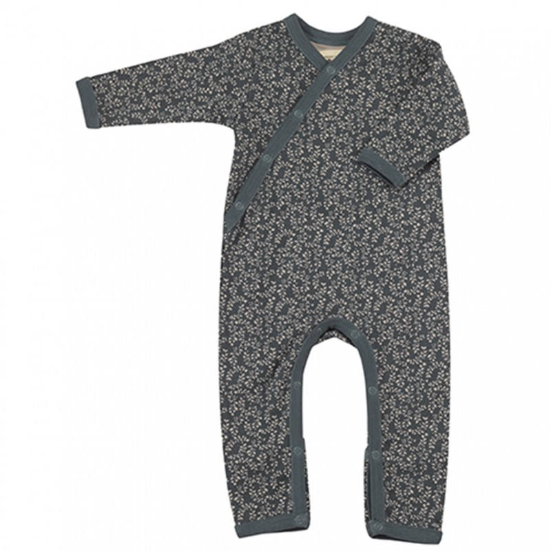 Pigeon - pyjama romper leaf - teal