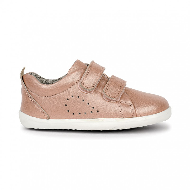 Bobux - Step up Grass Court Trainer - Rose Gold