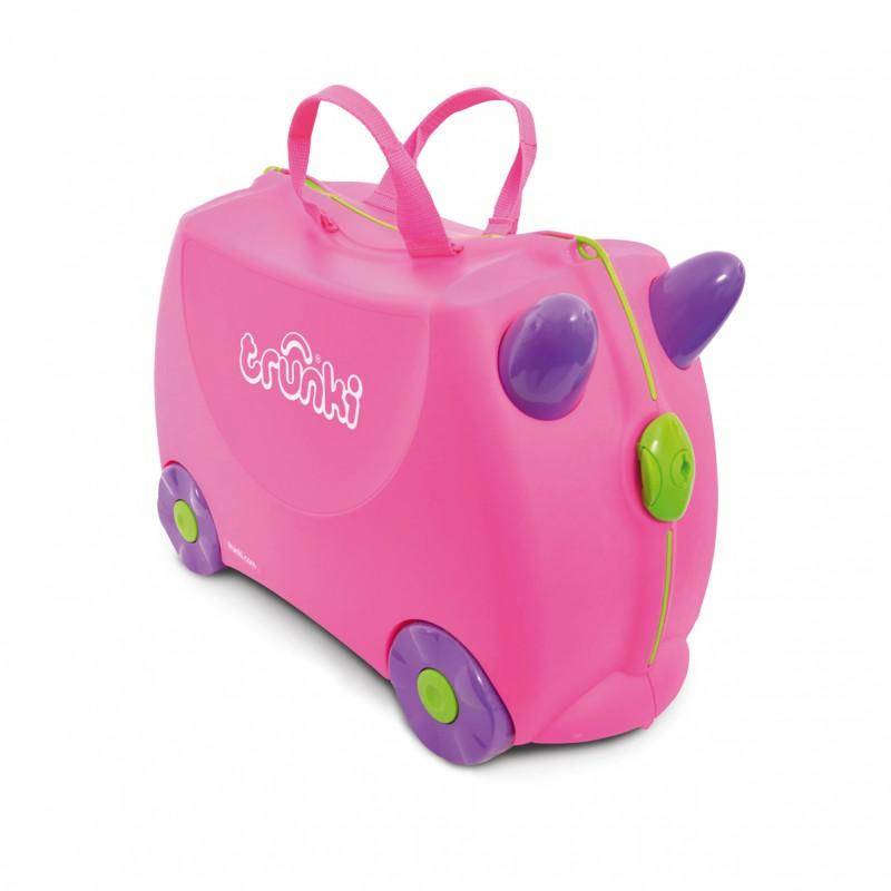 Trunki - Kinderkoffer ride-on Roze Trixie