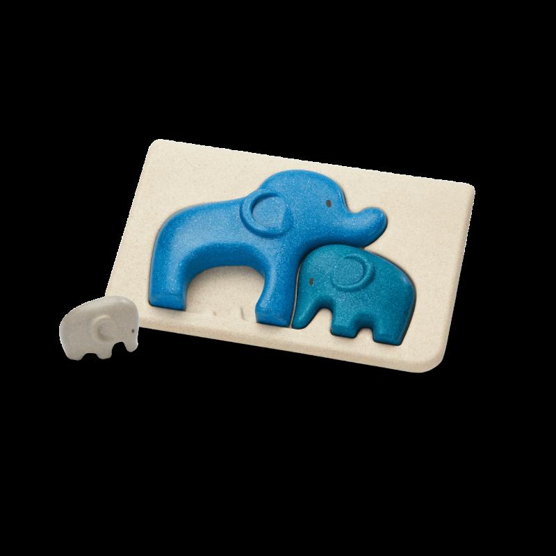 PlanToys - Olifant puzzel