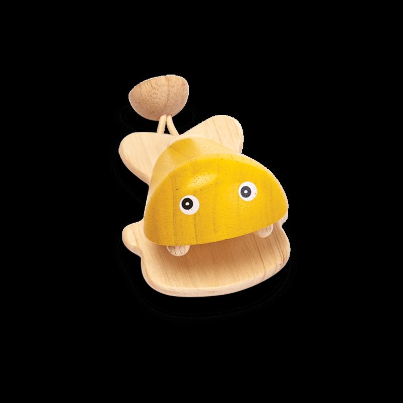 PlanToys - Vis castagnette Yellow