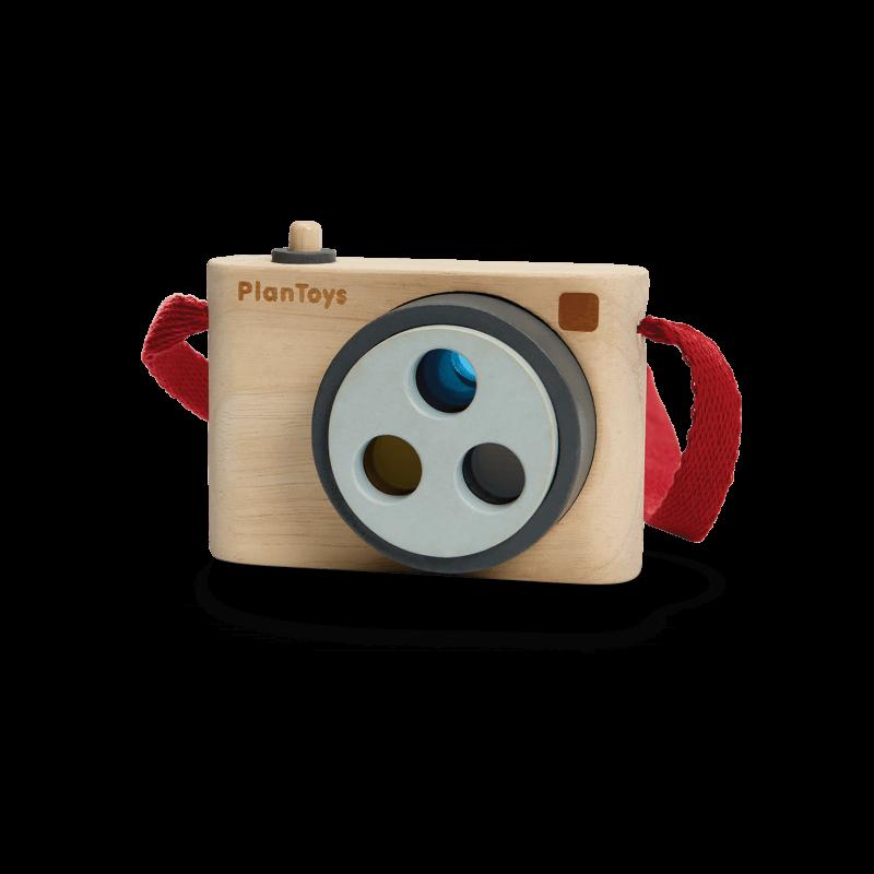 PlanToys - Camera met kleurlens
