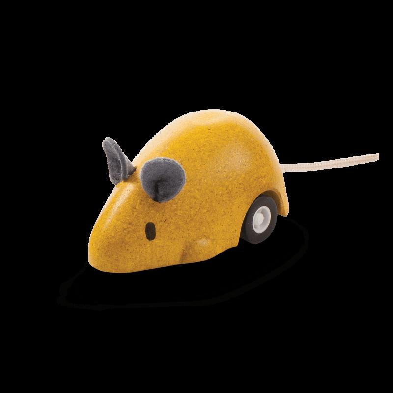 PlanToys - Muis Yellow