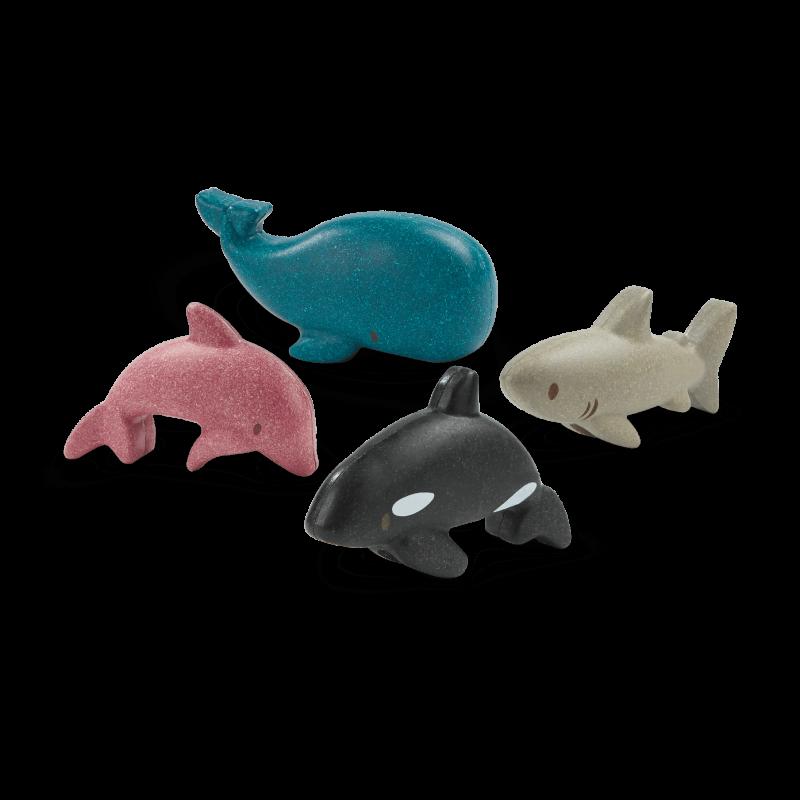 PlanToys - Sea life set
