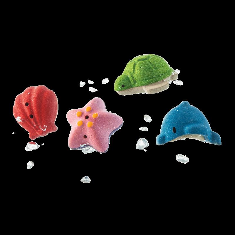 PlanToys - Onderwaterwereld bad set