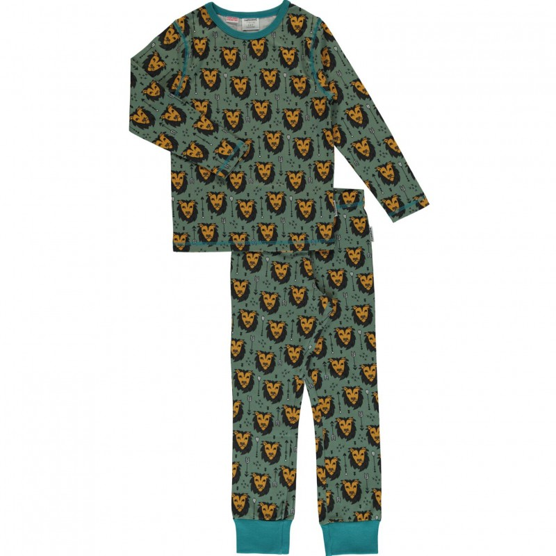 Maxomorra  - Pyjama Set LS lion jungle