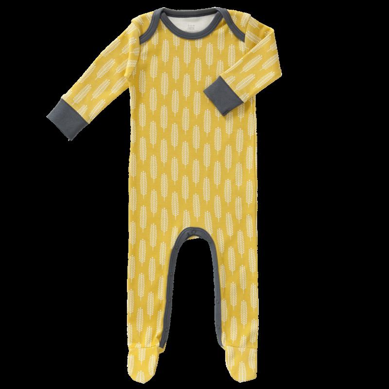 Fresk - pyjama met voet Havre vintage Yellow