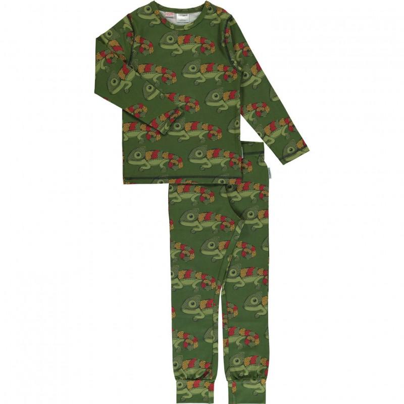 Maxomorra  - Pyjama Set LS chameleon