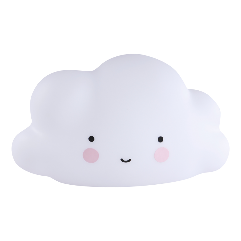 A little lovely company - Nachtlampje mini cloud wit