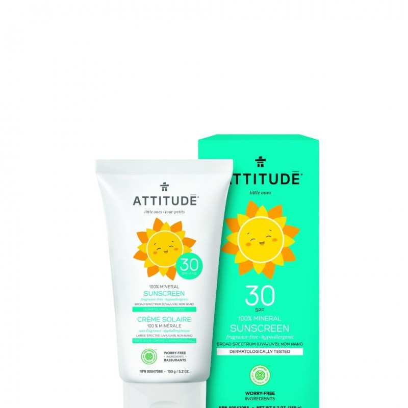 Attitude - Little Ones - Zonnebrandcrème Geurvrij 150ml