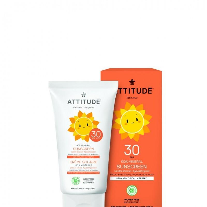 Attitude - Little Ones zonnebrandcrème vanille