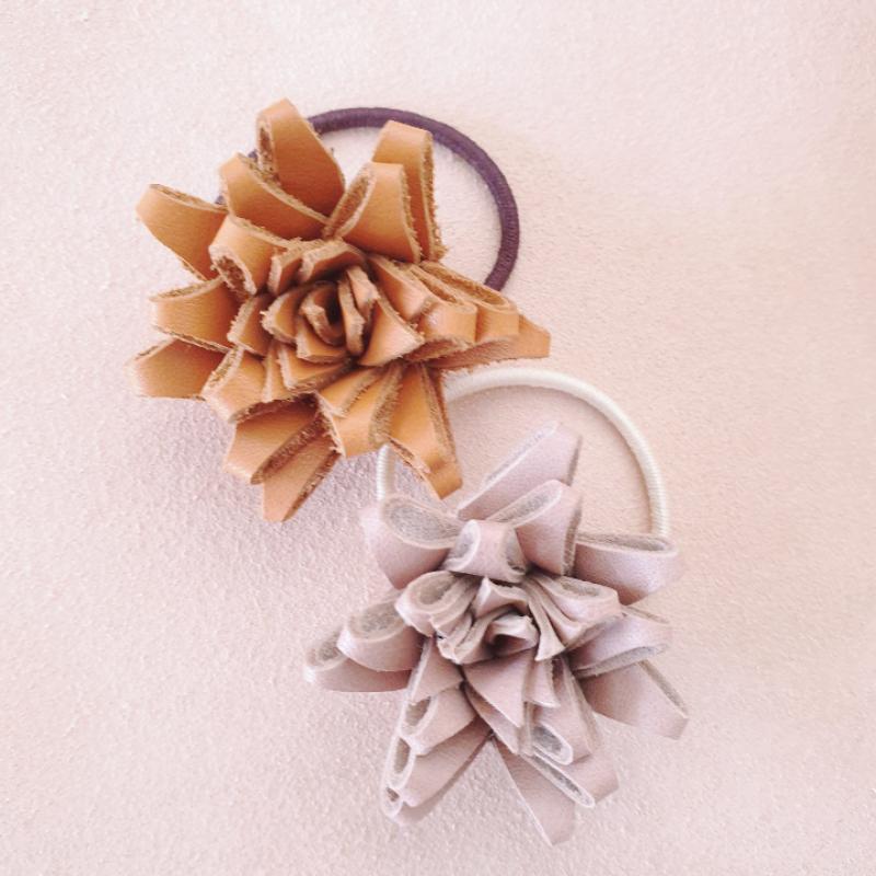 Atelier Ovive - Flower elastic cognac
