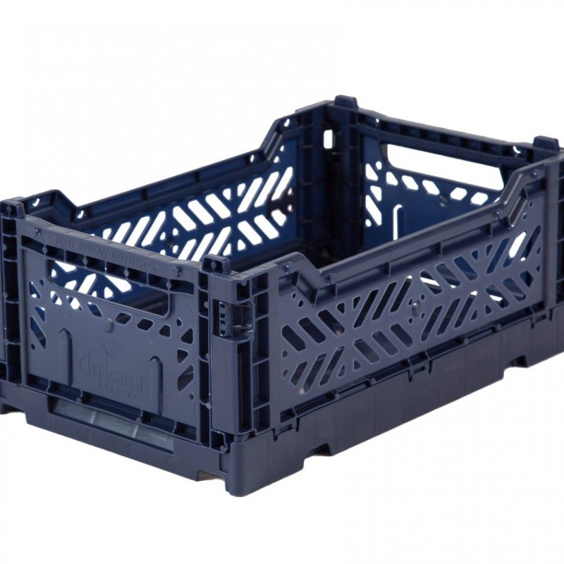 Eef Lillemor - Folding Crate Navy - mini