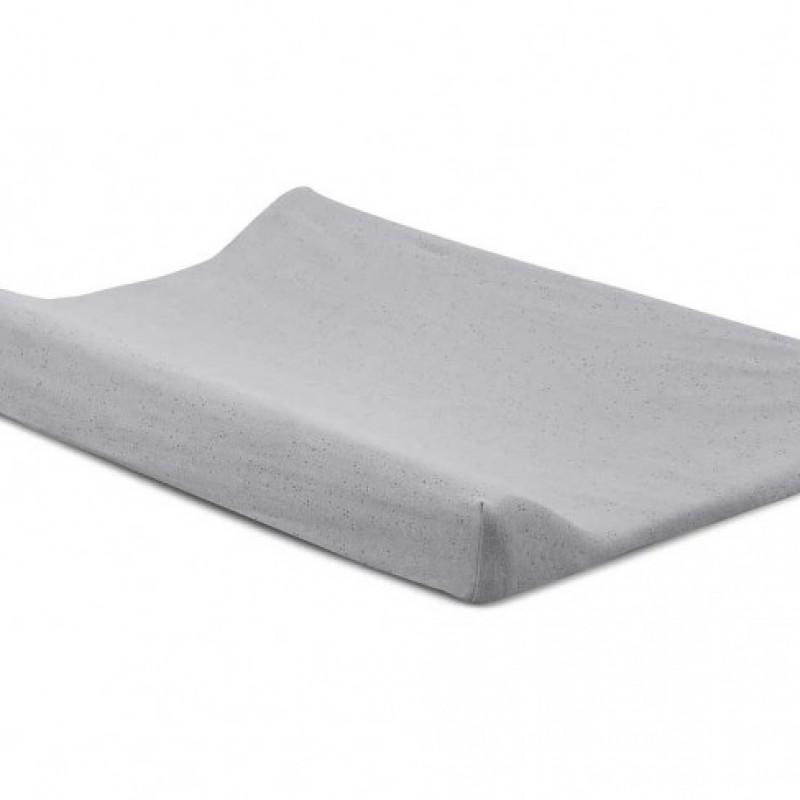 Jollein - waskussenhoes 50x70cm Mini dots mist grey