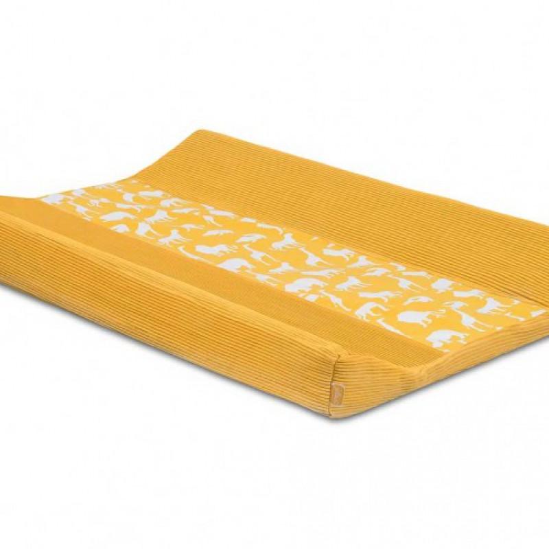 Jollein - waskussenhoes 50x70cm  Safari ocher