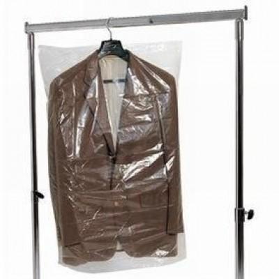 kledinghoezen pvc transparant 60 x 120 cm - per 100 stuks