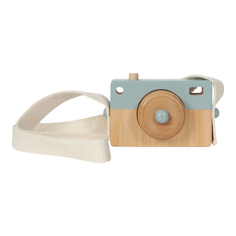Little Dutch - Camera hout - adventure blue
