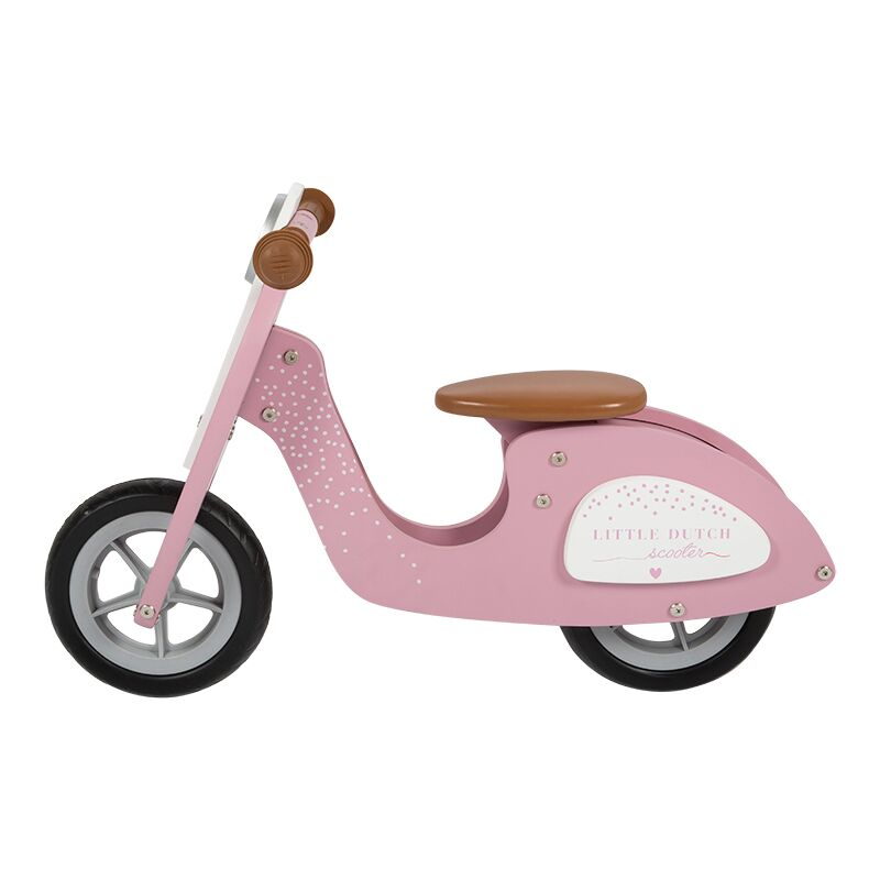 Little Dutch - Scooter hout - pink